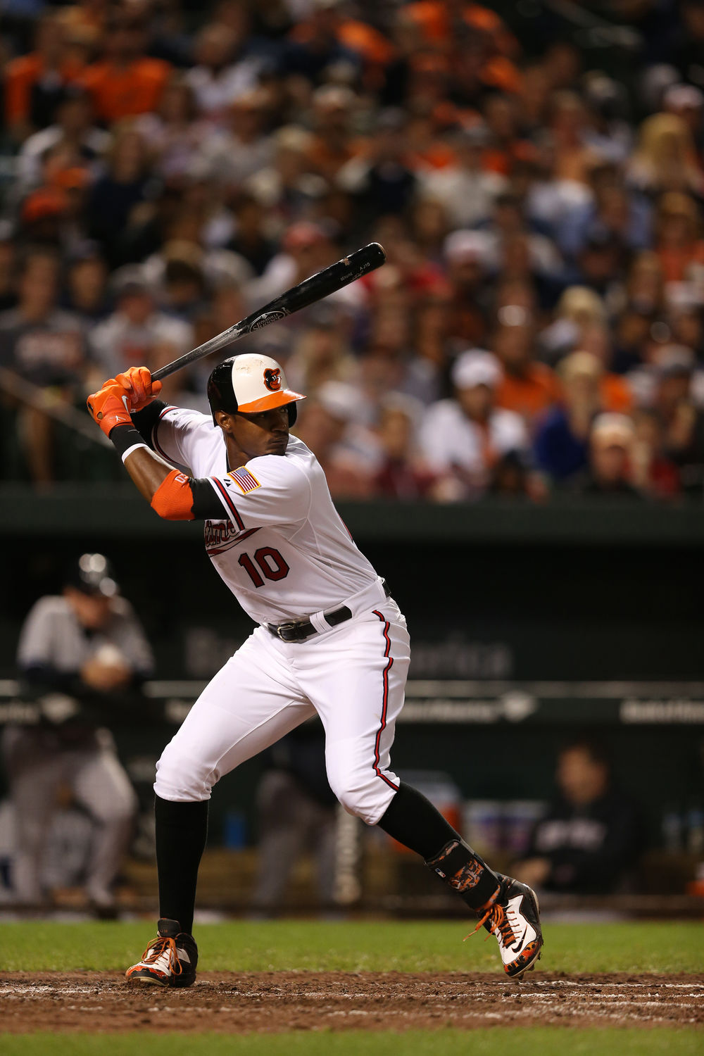 379fa32b6dc Baltimore Orioles  center fielder Adam Jones celebrated Jackie Robinson Day  by wearing custom cleats from Nike s Black History Month collection.
