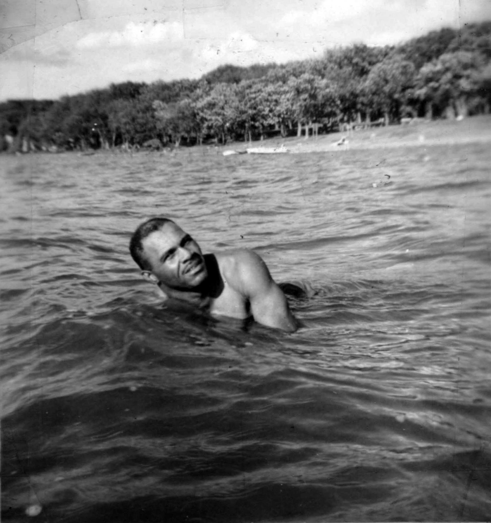Pennington preferred life in Latin America, where he could go to any restaurant, dance in any club, and swim on any beach.   BA SCR 2-050  (National Baseball Hall of Fame)