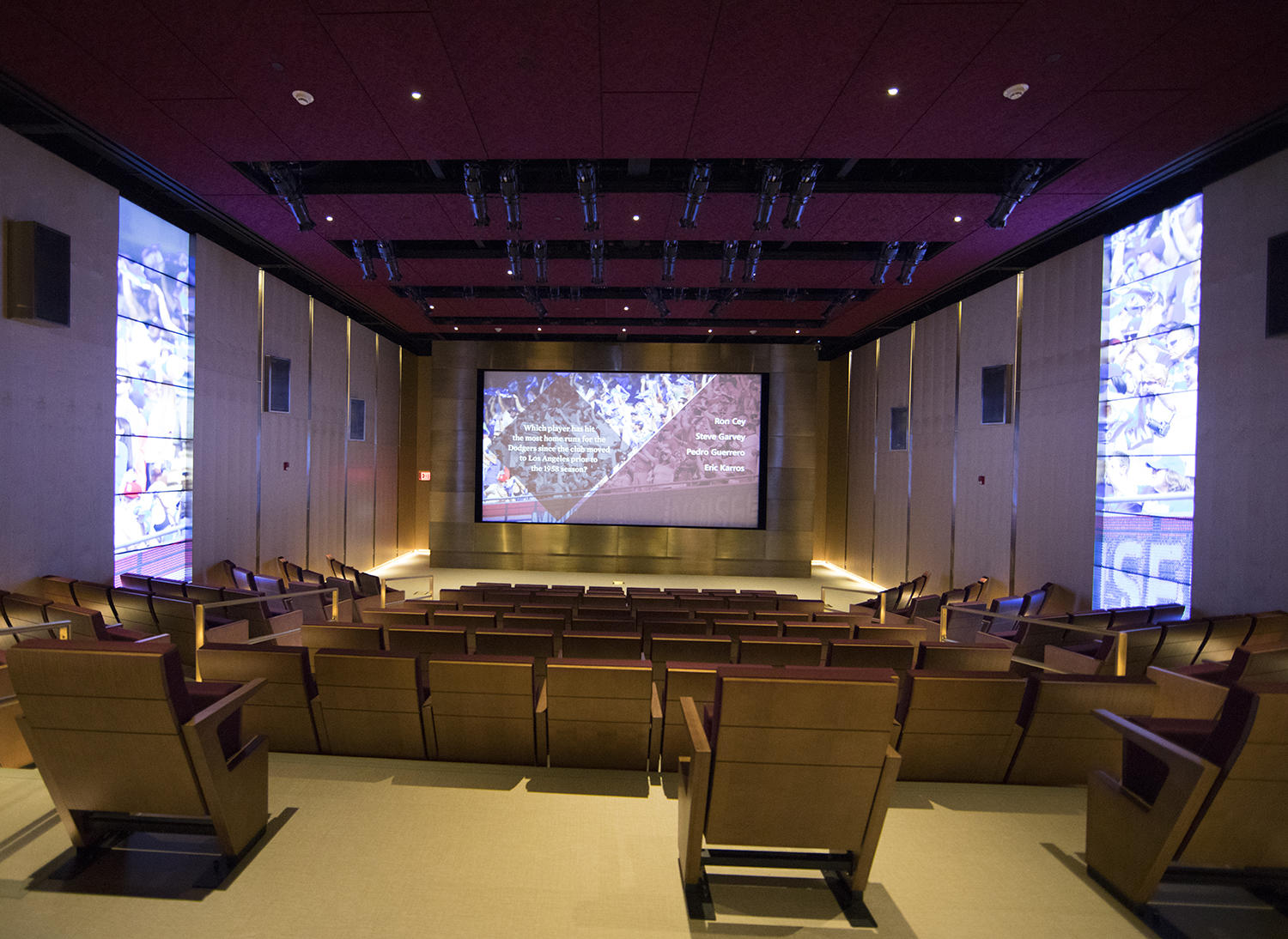 After a complete renovation, the 189-seat Grandstand Theater reopened in May of 2018. (Milo Stewart Jr./National Baseball Hall of Fame and Museum)