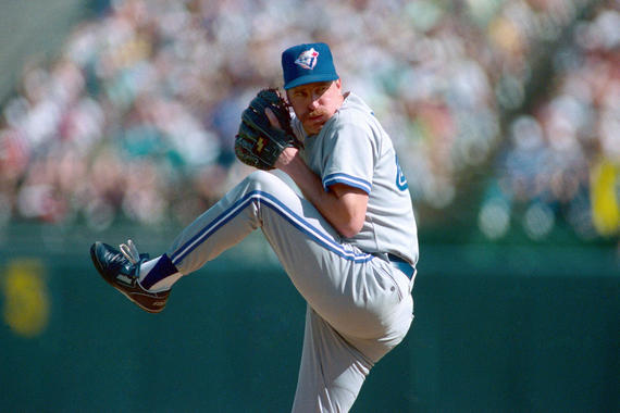 Jack Morris left the Twins via free agency following the 1991 season and pitched for the Blue Jays for two seasons, leading the American League with 21 wins in 1992. (Brad Mangin/National Baseball Hall of Fame and Museum)