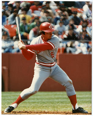 Johnny Bench played his entire 17-year big league career (1967-83) with the Cincinnati Reds. (Doug McWilliams/National Baseball Hall of Fame and Museum)