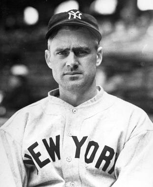 Earle Combs played 12 seasons for the Yankees, hitting .325 and leading the American League in triples three times. (National Baseball Hall of Fame and Museum)