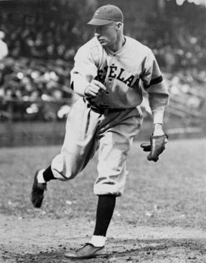 Hall of Famer Stan Coveleski was one of 17 pitchers who were allowed to continue throwing the spitball after it was banned. (National Baseball Hall of Fame and Museum)