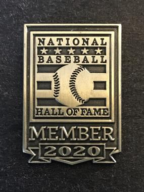All membership levels receive the member-exclusive lapel pin. Family and higher levels receive two pins.    The 2020 pin is shown as an example.
