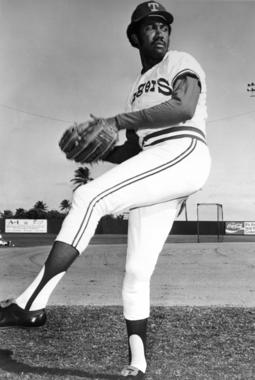 Fergie Jenkins played for the Texas Rangers from 1974-1975 and from 1978-1981. (National Baseball Hall of Fame)