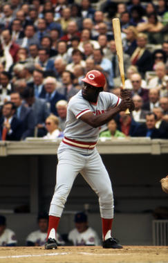 Joe Morgan won back-to-back National League Most Valuable Player Awards with the Cincinnati Reds in 1975 and 1976. (National Baseball Hall of Fame and Museum)