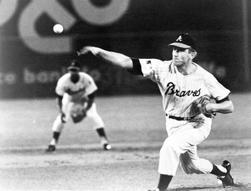 Using his trademark knuckleball to baffle hitters, Phil Niekro was named to five All-Star Games. (National Baseball Hall of Fame and Museum)