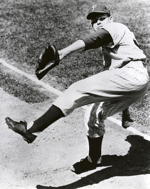 Robin Roberts played for the Philadelphia Phillies from 1948-1961. (National Baseball Hall of Fame and Museum)