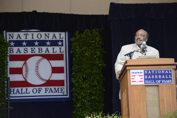 Joe Morgan was elected to the Hall of Fame in 1990 and later served as the Museum's Vice Chairman. (Milo Stewart Jr./National Baseball Hall of Fame and Museum)