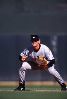 Craig Biggio of the Houston Astros - BL-12-2012-133 (Brad Mangin/National Baseball Hall of Fame Library)