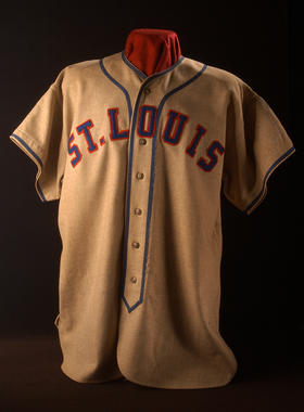 St. Louis Stars jersey worn by Cool Papa Bell in the Negro Leagues. (Milo Stewart, Jr. / National Baseball Hall of Fame)