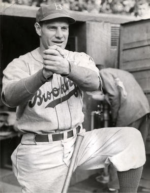 Leo Durocher, Brooklyn Dodgers, 1939 - BL-1957-68 (National Baseball Hall of Fame Library)
