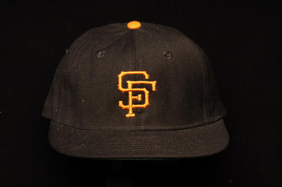 San Francisco Giants uniform cap worn by Juan Marichal during the 1969 season - B-249-83 (Milo Stewart Jr./National Baseball Hall of Fame Library)