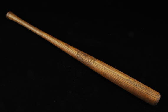 Bat used by Joe Sewell of the Cleveland Indians in 1920 - B-111-77 (Milo Stewart Jr./National Baseball Hall of Fame Library)