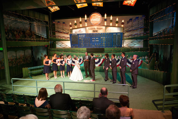 Wedding Ceremony in the Museum's Grandstand Theater.