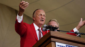 Stan Musial plays Take Me Out to the Ballgame