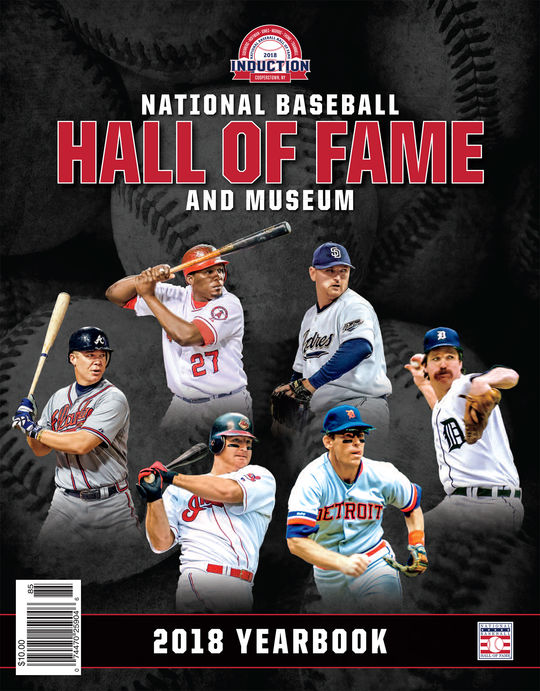 Hall of Fame Yearbook - $10.00 value (The 2018 edition is shown as an example.)