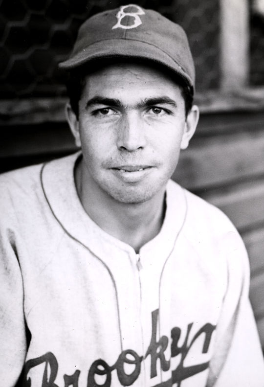 Mel Almada finished his career with the Brooklyn Dodgers in 1939, before moving to the minor leagues to play with the Triple-A Sacramento Solons. (National Baseball Hall of Fame and Museum)