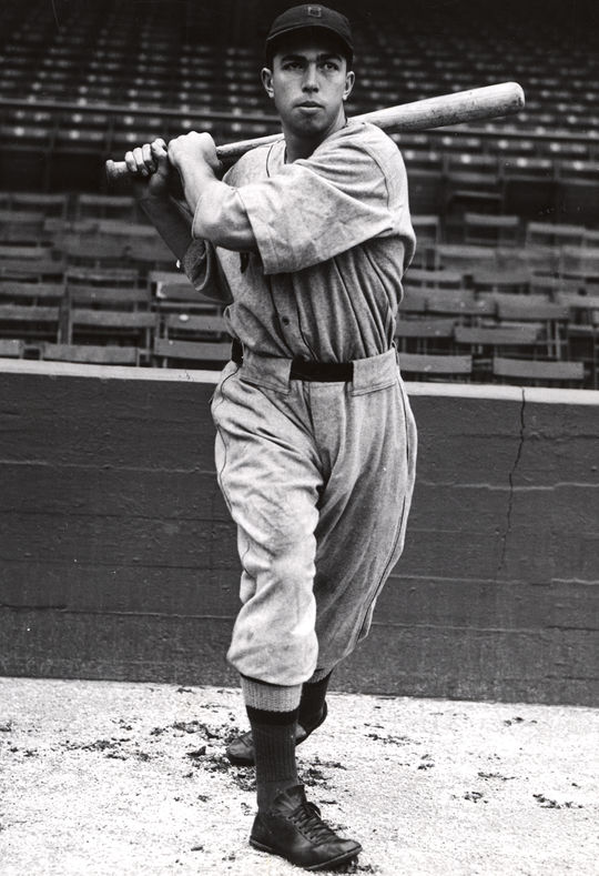 Mel Almada burst onto the big league scene in 1933, finishing his rookie season with a batting average of .341. (National Baseball Hall of Fame and Museum)