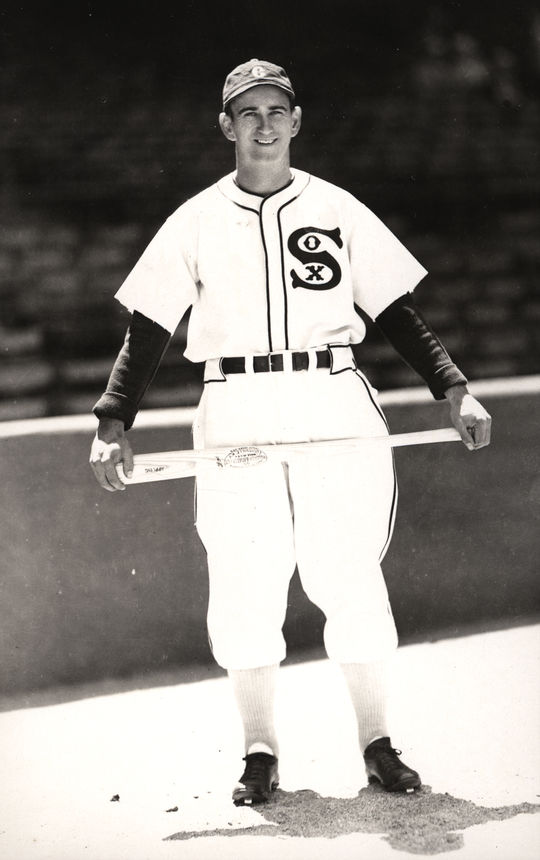 One of baseball toughest outs, Luke Appling averaged 75 walks and only 30 strikeouts per season in the 17 years in which he appeared in at least 81 games. (National Baseball Hall of Fame and Museum)