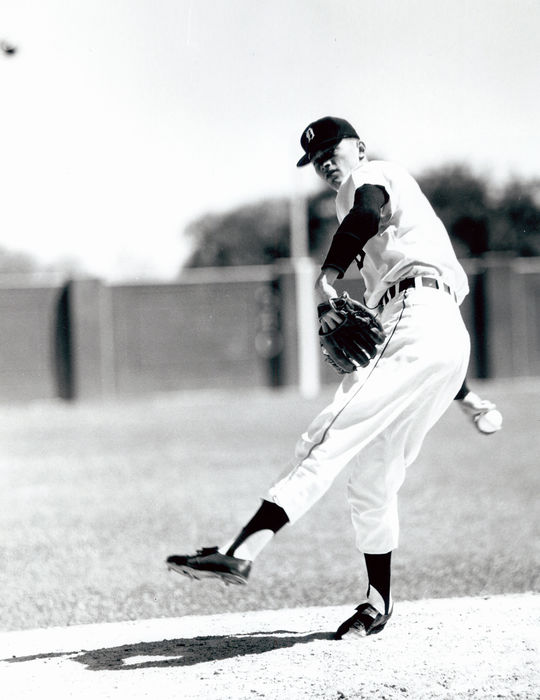 Jim Bunning played on the Detroit Tigers from 1955-1963, and threw a no-hitter for the team on July 20, 1958. (Don Wingfield / National Baseball Hall of Fame and Museum)