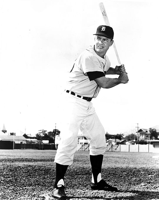 Norm Cash played 17 seasons in the big leagues, including 15 with the Detroit Tigers from 1960-74. (National Baseball Hall of Fame and Museum)