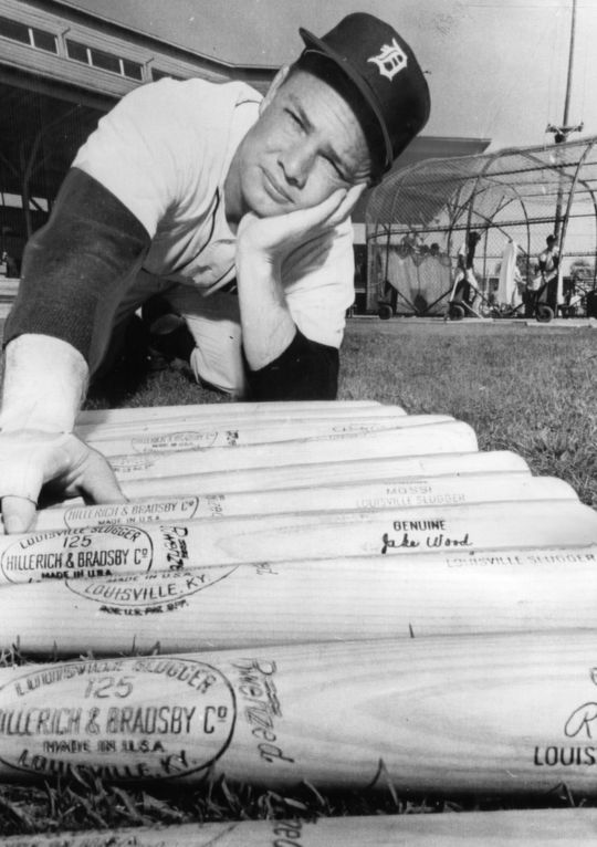 Norm Cash totaled 377 home runs during his career in the big leagues. (National Baseball Hall of Fame and Museum)