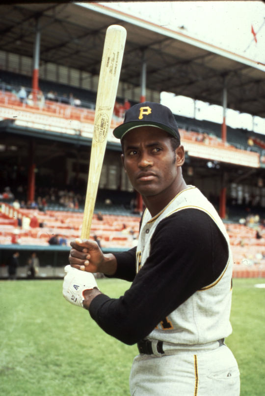 Roberto Clemente, pictured above, was one of Steve Blass's closest friends on the Pirates. Blass later delivered the eulogy at Clemente's funeral. (Cliff Boutelle/National Baseball Hall of Fame and Museum)