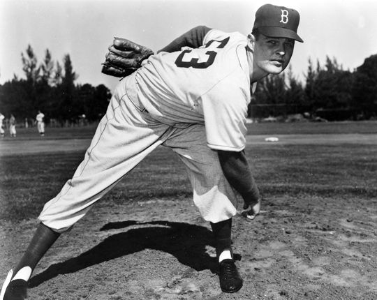 In Steve Blass's first big league start he outdueled future Hall of Famer Don Drysdale, pictured above. (National Baseball Hall of Fame and Museum)