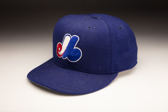 Hall of Famer Gary Carter wore this cap during his final season with the Expos in 1992. (Milo Stewart Jr./National Baseball Hall of Fame and Museum)