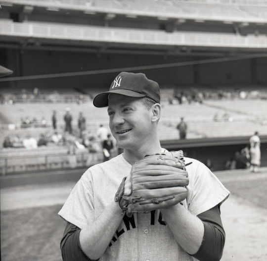 Whitey Ford's retirement in 1967 didn't signal the end of his pitching days. The Hall of Famer made numerous other appearances later on in exhibition games. (Don Wingfield/National Baseball Hall of Fame and Museum)