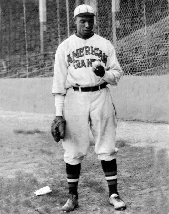 Bill Foster, who dominated Negro Leagues hitters in the 1920s and 1930s, was elected to the Hall of Fame in 1996. (National Baseball Hall of Fame and Museum)