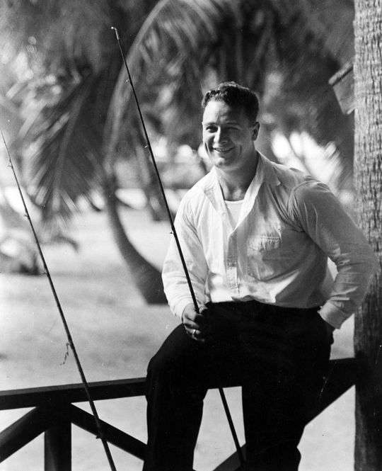 Lou Gehrig was one of baseball's greatest first basemen, but his life was cut tragically short by amyotrophic lateral sclerosis (ALS). Shortly after his death, a Liberty ship was named in his honor. (National Baseball Hall of Fame and Museum)