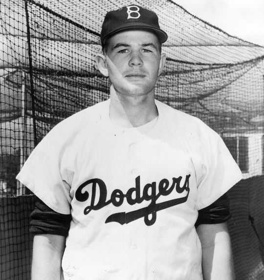Jim Gentile began his pro baseball career as a pitcher in the Dodgers system before moving to first base. (National Baseball Hall of Fame and Museum)