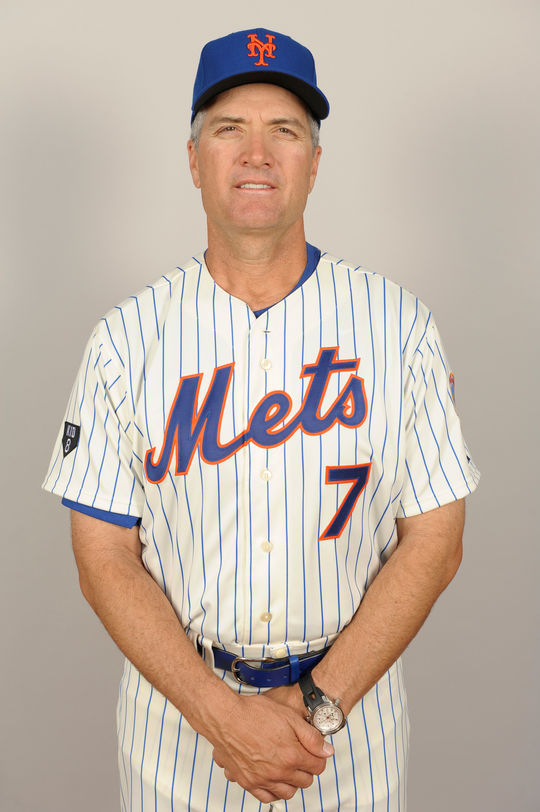 Former New York Mets' bench coach, Bob Geren. BL-300-2013-21 (New York Mets / National Baseball Hall of Fame Library)