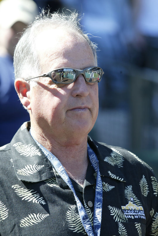 Pat Gillick in 2003 during his time as the Mariners' general manager. BL-221.2011.6 (National Baseball Hall of Fame Library)
