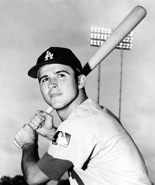 Billy Grabarkewitz was injured in 1971, which paved the way for Jim Lefebvre to earn more play time at second base. (National Baseball Hall of Fame and Museum)