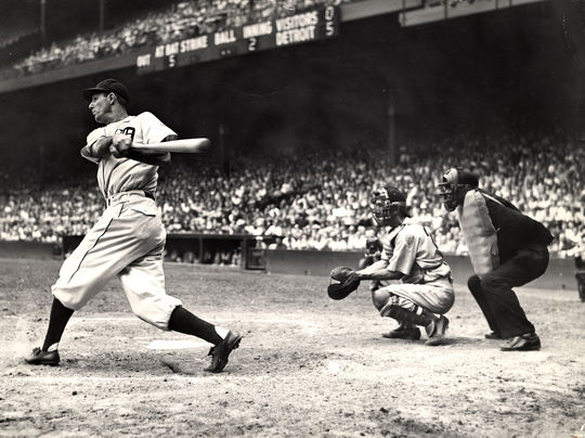 On Sept. 17, 1946, Hank Greenberg hit his 300th career home run, becoming just the eighth member of that club. (National Baseball Hall of Fame and Museum)