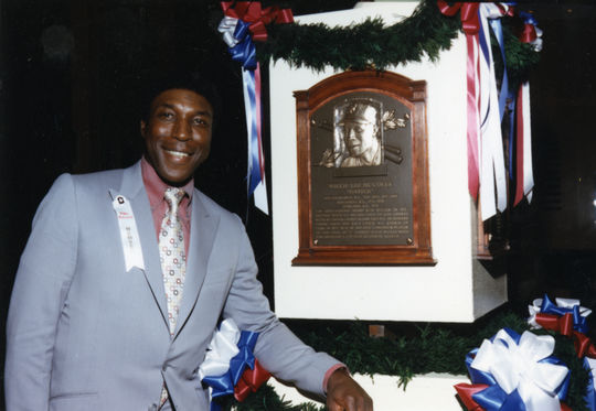 Willie McCovey was inducted into the Hall of Fame in 1986 following a 22-year big league career where he hit 521 home runs and drove in 1,555 runs. (National Baseball Hall of Fame and Museum)