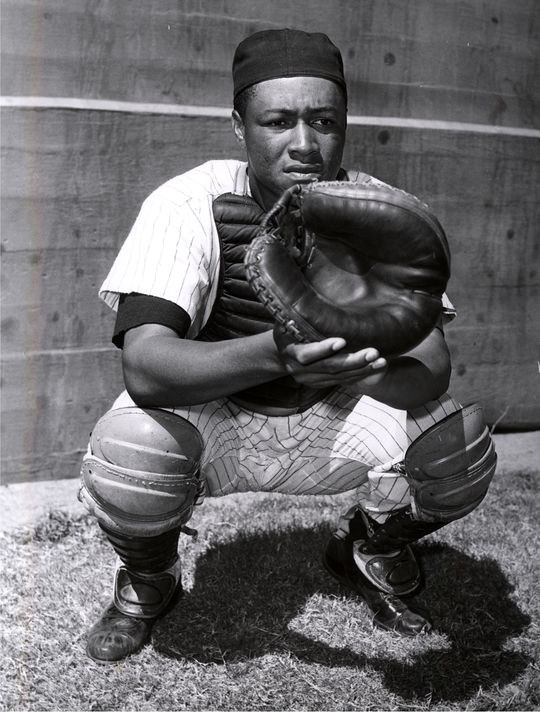 With Elston Howard's baseball career coming to a close in 1966 and 1967, Jake Gibbs helped relieve Howard of some of his catching duties. (National Baseball Hall of Fame and Museum)