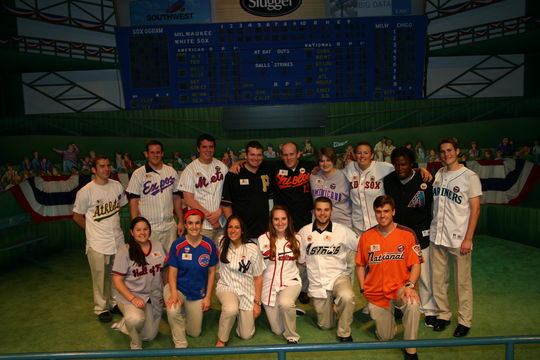 The members of the Frank and Peggy Steele Internship Program for Youth Leadership Development at the Hall of Fame annually present the All-Star Gala in Cooperstown. (Milo Stewart, Jr. / National Baseball Hall of Fame)