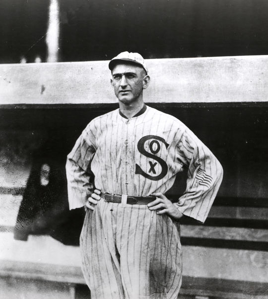 Joe Jackson was traded to the Chicago White Sox in the midst of the 1915 season, and went on to help lead them to a World Series victory in 1917. (National Baseball Hall of Fame and Museum)