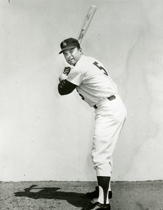 """Jim Lefebvre, nicknamed """"Frenchy,"""" earned National League Rookie of the Year honors in 1965 and helped carry the Dodgers to the World Series. (National Baseball Hall of Fame and Museum)"""