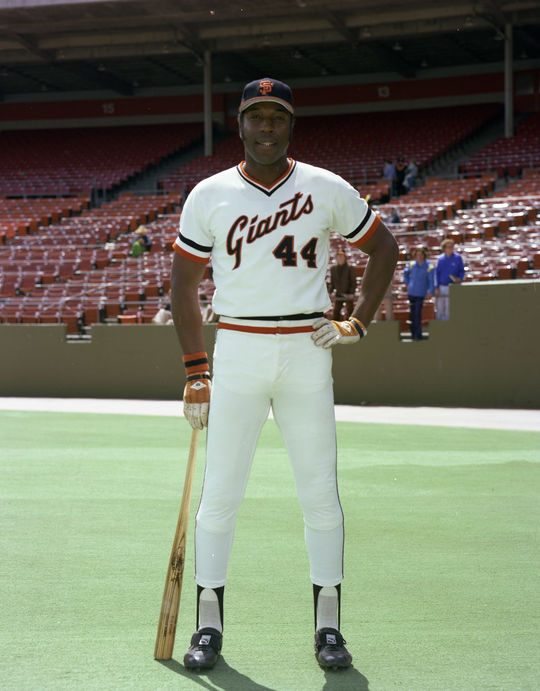 Hall of Fame first baseman Willie McCovey played 19 of his 22 big league seasons with the San Francisco Giants. (Doug McWilliams/National Baseball Hall of Fame and Museum)