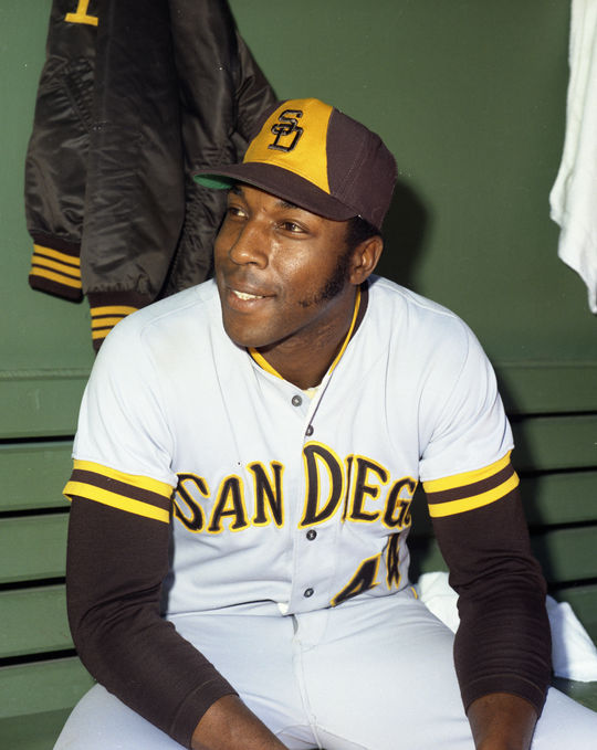 After spending his first 15 seasons in the big leagues with the Giants, Willie McCovey was traded to the Padres following the 1973 season. In two-plus seasons with San Diego, McCovey hit 52 home runs. (Doug McWilliams/National Baseball Hall of Fame and Museum)