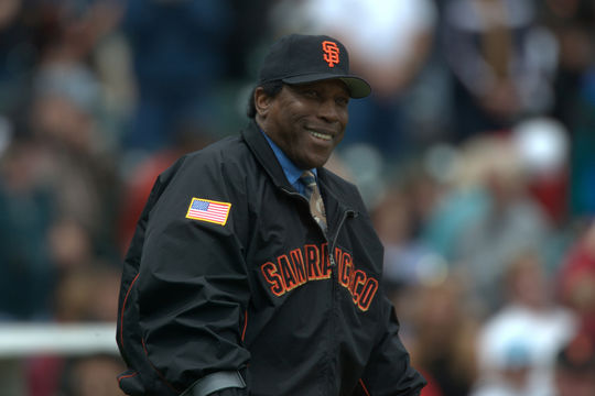 Willie McCovey was elected to the Hall of Fame in 1986. (Brad Mangin/National Baseball Hall of Fame and Museum)