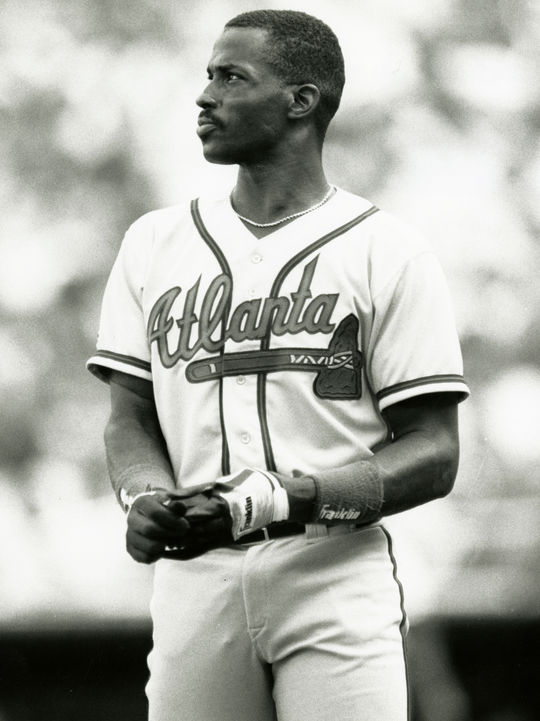 Fred McGriff has a career .303 Postseason batting average in 50 games with 10 homers and 37 RBI in 10 series. (National Baseball Hall of Fame and Museum)