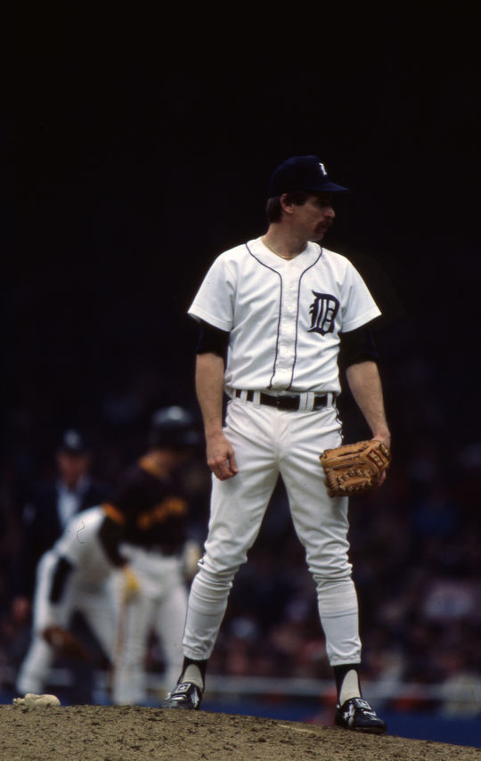 Jack Morris was selected by the Detroit Tigers in 5th round of the 1976 MLB Draft. The Tigers also selected Morris' fellow future Hall of Famer Alan Trammell in that draft. (Rich Pilling/National Baseball Hall of Fame and Museum)