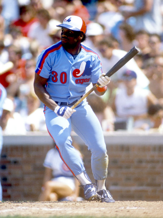 Tim Raines spent 23 years in the big leagues, and played for the Montreal Expos for more than a decade. (Ron Vesely/National Baseball Hall of Fame and Museum)