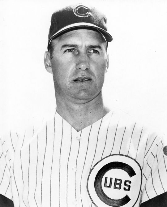 The Cubs acquired Phil Regan in late April of 1968, and he proceeded to save 25 games and earn his second National League Fireman of the Year Award. (National Baseball Hall of Fame and Museum)